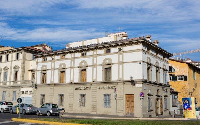 Отель Residence San Niccolo вид на фасад