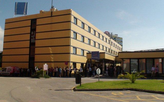 Отель Novotel Porto Gaia вид на фасад