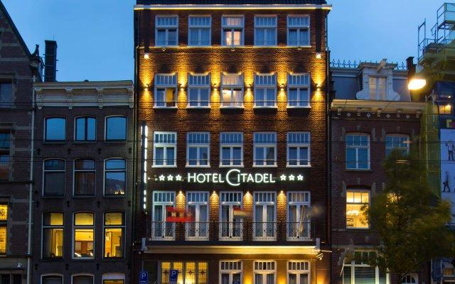 Отель Citadel Нидерланды, Амстердам - 2 отзыва об отеле, цены и фото номеров - забронировать отель Citadel онлайн вид на фасад