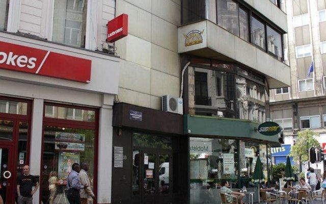 Отель Apartmentsapart Брюссель вид на фасад
