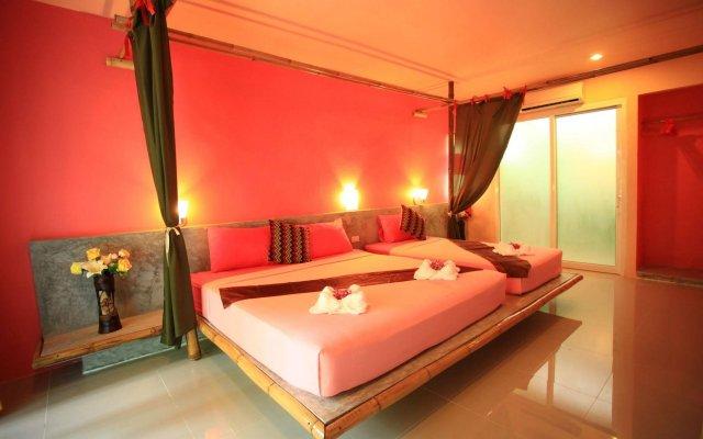 Отель Cha-Ba Bungalow & Art Gallery Таиланд, Ланта - отзывы, цены и фото номеров - забронировать отель Cha-Ba Bungalow & Art Gallery онлайн комната для гостей
