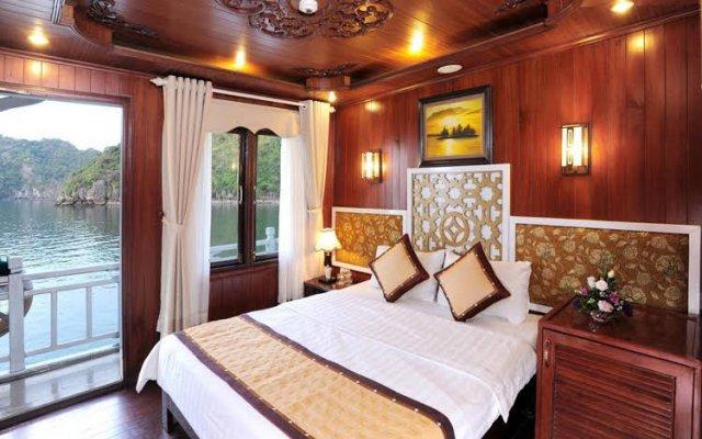 Отель Marguerite Cruises Вьетнам, Халонг - отзывы, цены и фото номеров - забронировать отель Marguerite Cruises онлайн вид на фасад