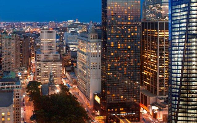 Отель Millenium Hilton США, Нью-Йорк - 1 отзыв об отеле, цены и фото номеров - забронировать отель Millenium Hilton онлайн