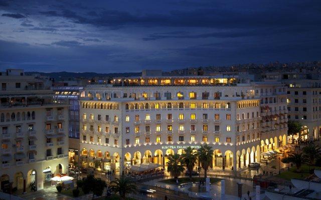 Отель Electra Palace Thessaloniki Салоники вид на фасад