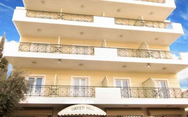 Green Hill Hotel вид на фасад