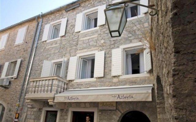 Astoria Hotel Budva - Montenegro Будва вид на фасад