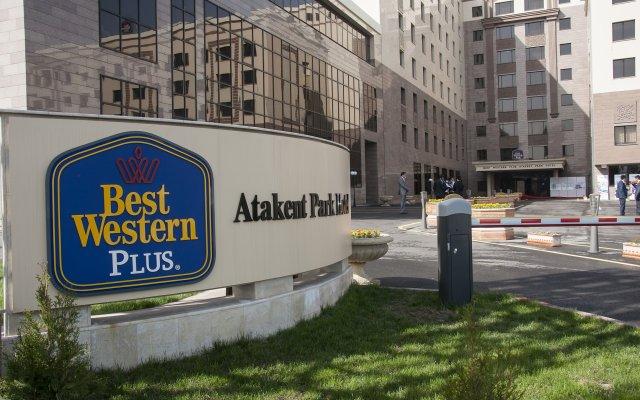 Гостиница Best Western Plus Atakent Park Казахстан, Алматы - 7 отзывов об отеле, цены и фото номеров - забронировать гостиницу Best Western Plus Atakent Park онлайн вид на фасад
