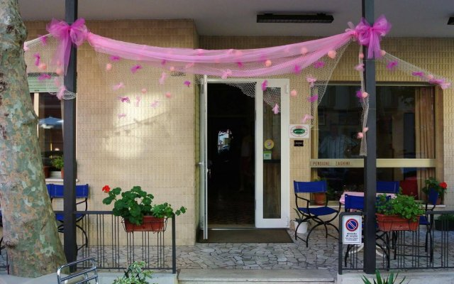 Hotel Zaghini вид на фасад