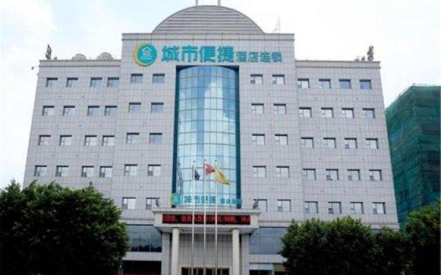 Отель City Comfort Inn Dongguan Humen Beizha Branch вид на фасад