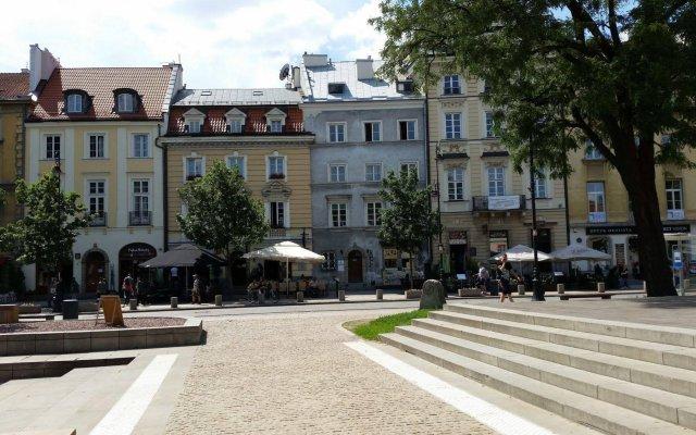 Отель Old Town Art Studio Польша, Варшава - отзывы, цены и фото номеров - забронировать отель Old Town Art Studio онлайн вид на фасад