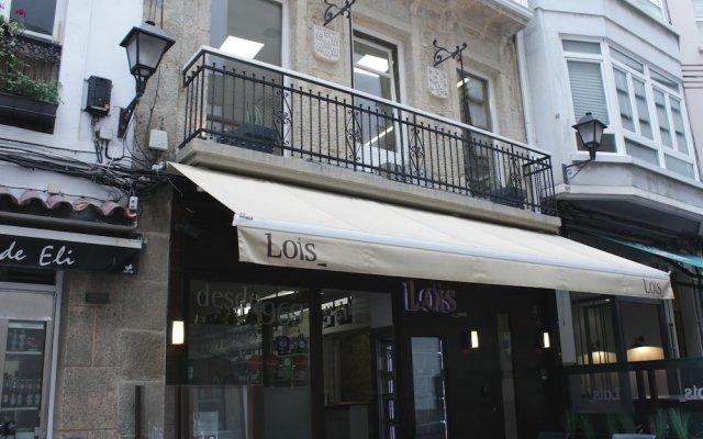 Hotel Lois вид на фасад