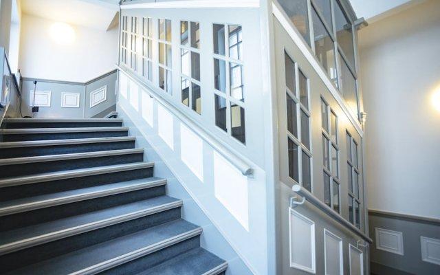 Отель Select Checkpoint Charlie Берлин вид на фасад