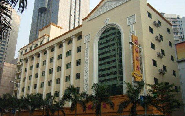 Отель Yinyi Hotel Китай, Чжуншань - отзывы, цены и фото номеров - забронировать отель Yinyi Hotel онлайн вид на фасад