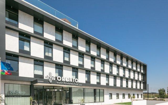 Oporto Airport & Business Hotel вид на фасад