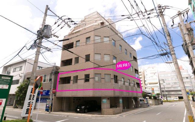 Отель 81's Inn Fukuoka - Hostel Япония, Хаката - отзывы, цены и фото номеров - забронировать отель 81's Inn Fukuoka - Hostel онлайн вид на фасад