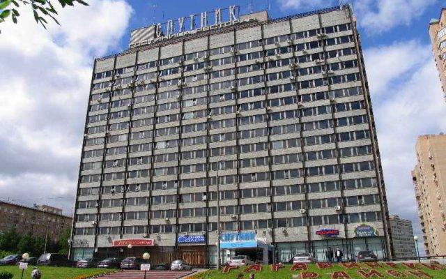 Отель Спутник Москва вид на фасад