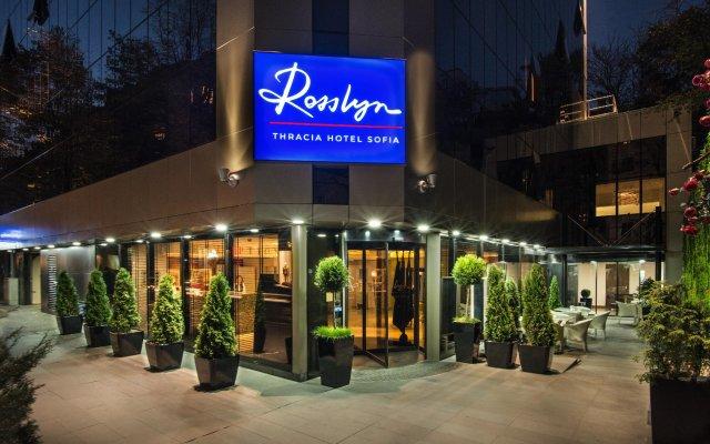 Rosslyn Thracia Hotel вид на фасад