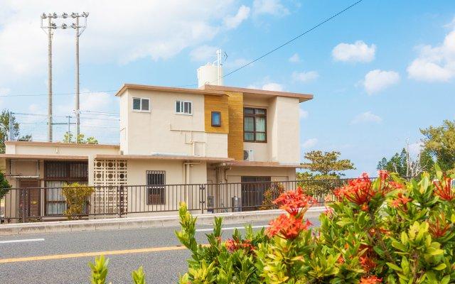 Отель Inn of Nabee HAMABE Центр Окинавы вид на фасад