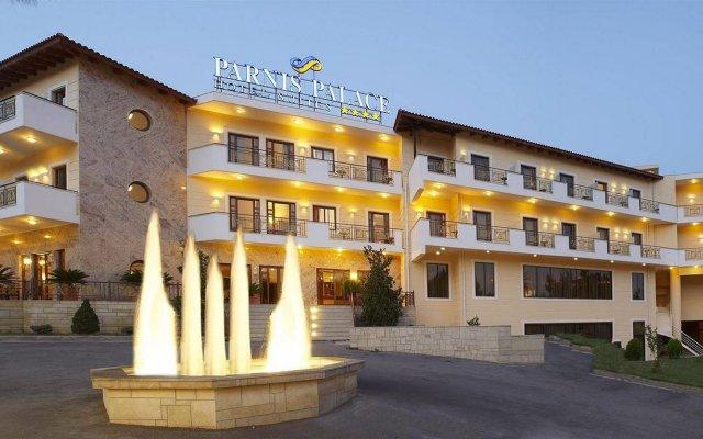 Parnis Palace Hotel Suites вид на фасад