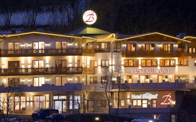 Hotel Berghof вид на фасад