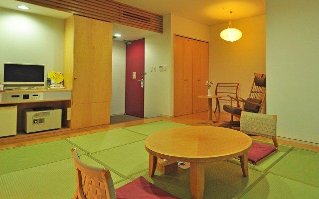 Mukawa Onsen Hotel Shiki no Kaze Томакомай комната для гостей