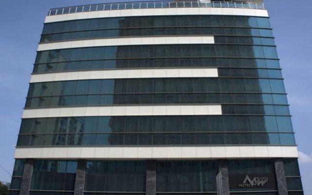 Отель Нью Баку вид на фасад