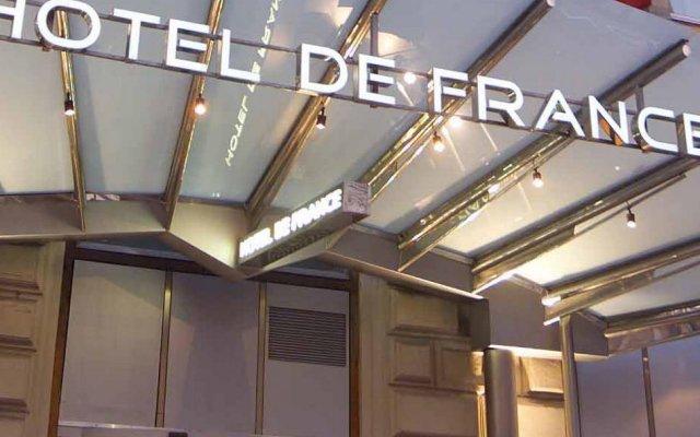 Hotel de France Wien вид на фасад