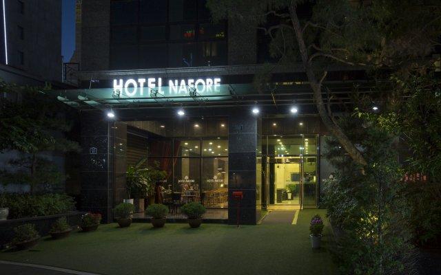 Hotel Nafore вид на фасад