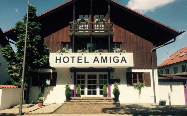Отель Amiga Германия, Мюнхен - отзывы, цены и фото номеров - забронировать отель Amiga онлайн вид на фасад