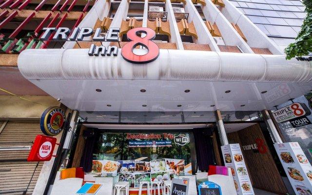 Отель Triple 8 Inn Bangkok Таиланд, Бангкок - отзывы, цены и фото номеров - забронировать отель Triple 8 Inn Bangkok онлайн вид на фасад