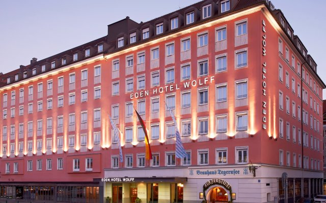Eden Hotel Wolff вид на фасад