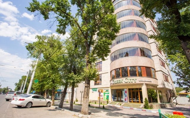 Отель Green City Кыргызстан, Бишкек - отзывы, цены и фото номеров - забронировать отель Green City онлайн вид на фасад
