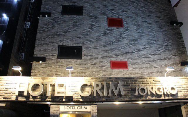 Hotel Grim Jongro Insadong вид на фасад