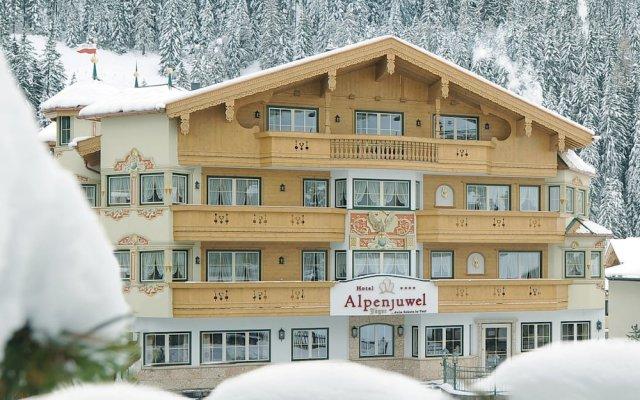 Отель Alpenjuwel Jäger вид на фасад