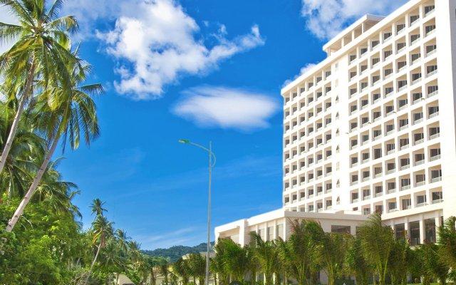 Отель Dessole Sea Lion Nha Trang Resort Кам Лам вид на фасад