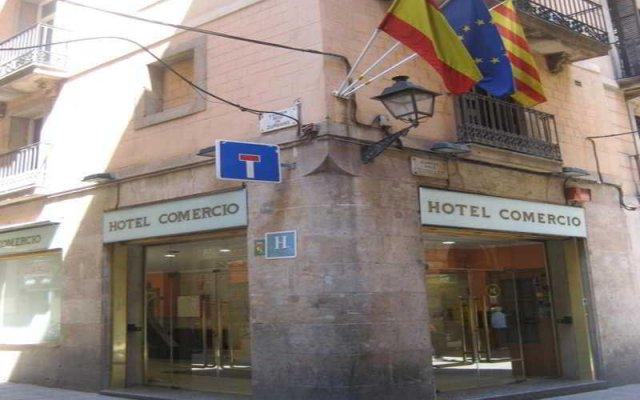 Отель Comercio вид на фасад