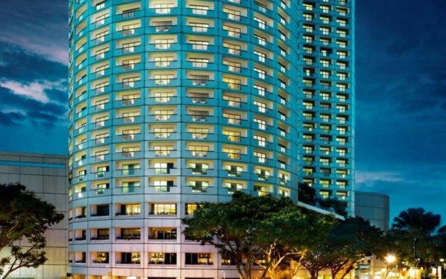 Отель Fairmont Singapore Сингапур вид на фасад