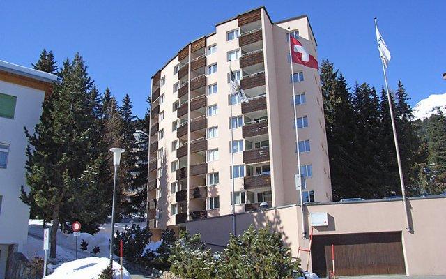 Отель Parkareal (Utoring) Швейцария, Давос - отзывы, цены и фото номеров - забронировать отель Parkareal (Utoring) онлайн вид на фасад