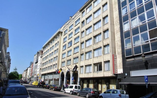 Отель Bedford Hotel & Congress Centre Бельгия, Брюссель - - забронировать отель Bedford Hotel & Congress Centre, цены и фото номеров вид на фасад