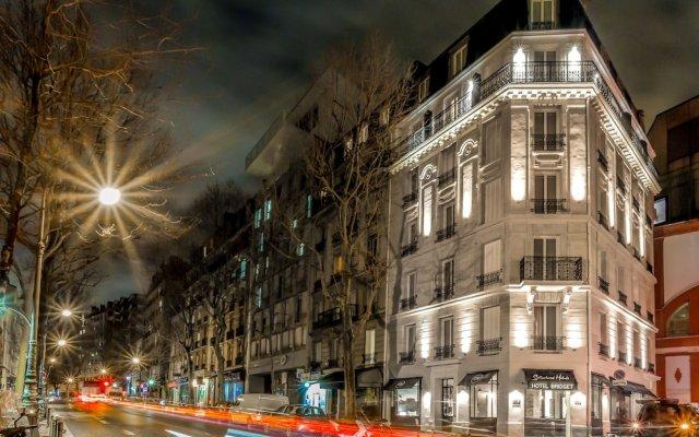 Hotel Bridget Париж вид на фасад