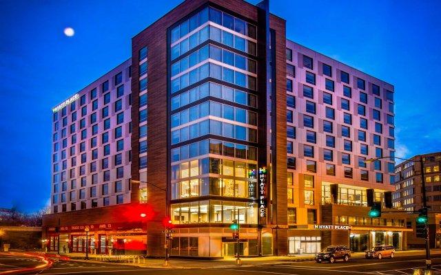 Отель Hyatt Place Washington DC/National Mall вид на фасад