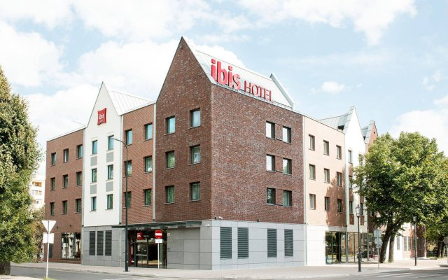 Отель Ibis Gdansk Stare Miasto Гданьск вид на фасад