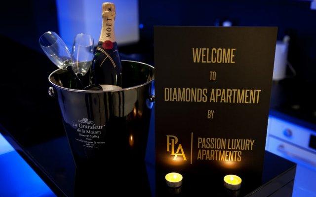 Апартаменты Diamonds Apartment вид на фасад