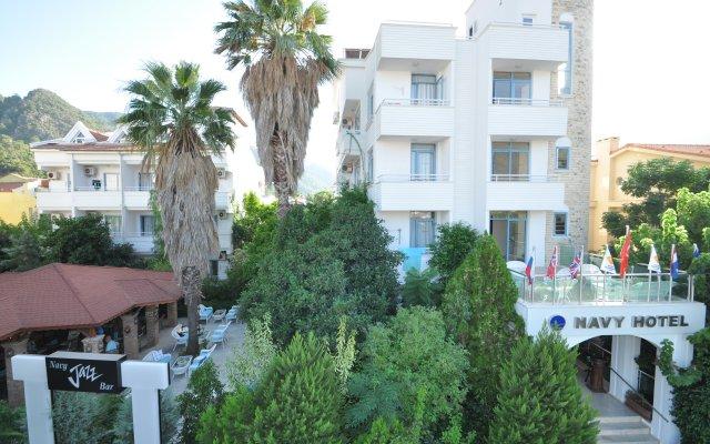 Navy Hotel Турция, Мармарис - 4 отзыва об отеле, цены и фото номеров - забронировать отель Navy Hotel онлайн вид на фасад