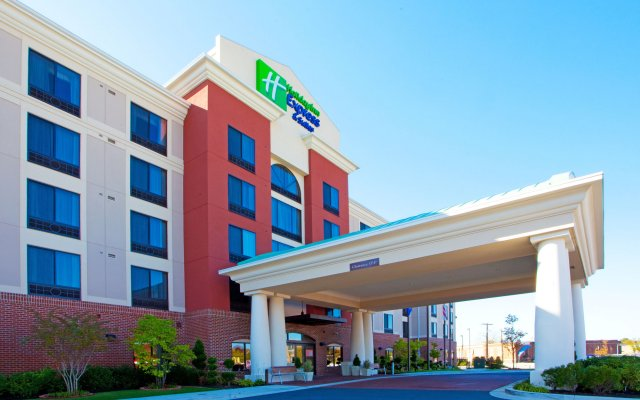 Отель Holiday Inn Express-Washington DC вид на фасад