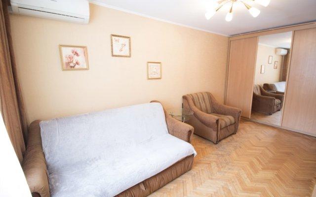 Апартаменты Flats of Moscow Apartment Kolomenskaya комната для гостей