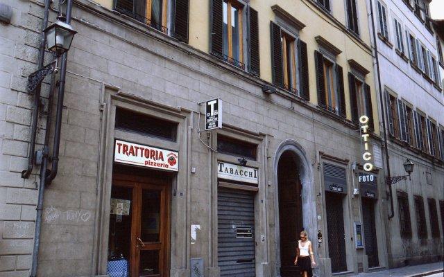 Отель Tourist House Ghiberti вид на фасад