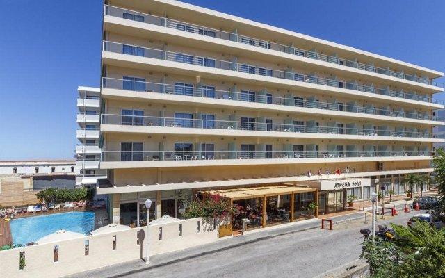 Отель Athena Родос вид на фасад