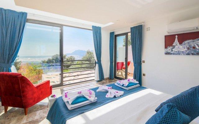 Villa Tena Турция, Калкан - отзывы, цены и фото номеров - забронировать отель Villa Tena онлайн комната для гостей