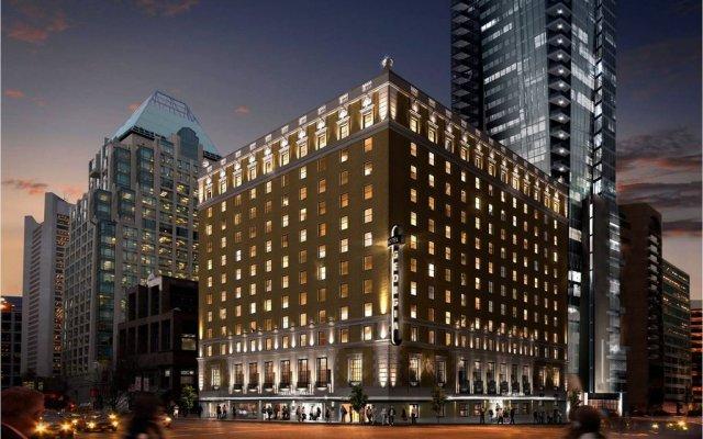 Отель Rosewood Hotel Georgia Канада, Ванкувер - отзывы, цены и фото номеров - забронировать отель Rosewood Hotel Georgia онлайн вид на фасад